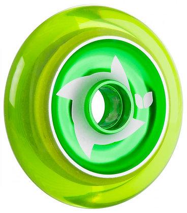 Blazer Pro Shuriken Wheel 100mm - Clear Green