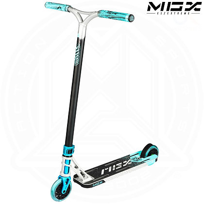 MGP MGX E1 - Extreme Stunt Scooter 5.0'' - Silver/Teal