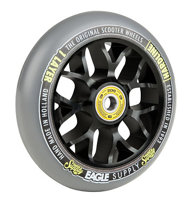 Eagle Supply Wheel 110mm H/Line 1/L X6 Sewercaps - Black/Grey