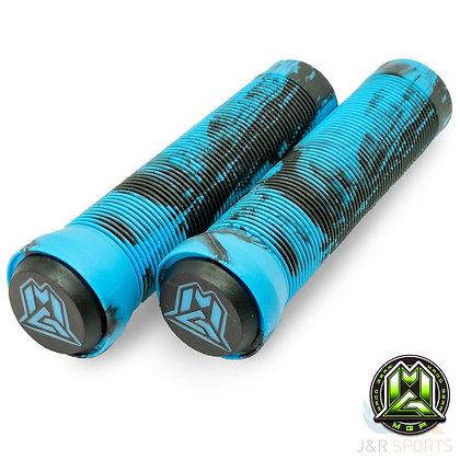 Mgp Swirl Grind Grips 150mm - Blue/Black