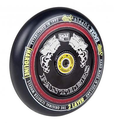 Eagle Supply Wheel 115mm H/Line 2/L Hlw tech Panthers - Black/Black