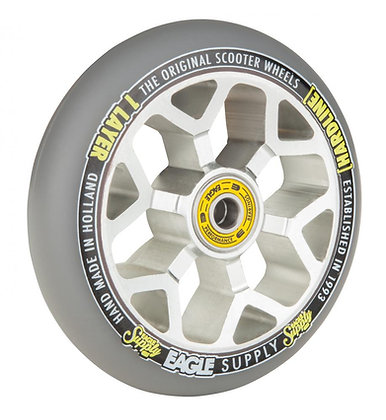 Eagle Supply Wheel 110mm H/Line 1/L 6M Sewercaps - Silver/Grey