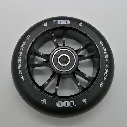 Blunt Envy Colt Wheel 100mm - Black/Black