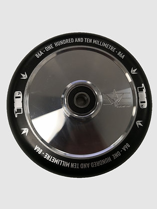 Blunt Envy Hollow Core Wheel 110mm - Polished/Black