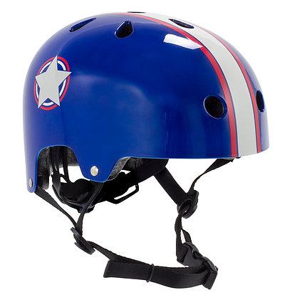 Sfr Adjustable Kids Helmet Xxxs/xs - Blue/Silver
