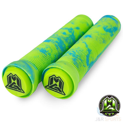 Mgp Swirl Grind Grips 150mm - Blue/Green