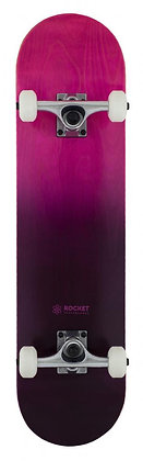 Rocket Double Dipped Complete Skateboard 7.75'' - Purple