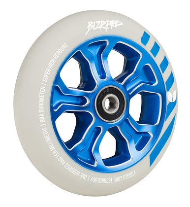 Blazer Pro Wheel 110mm Rebellion Forged Abec 11 - White/Blue