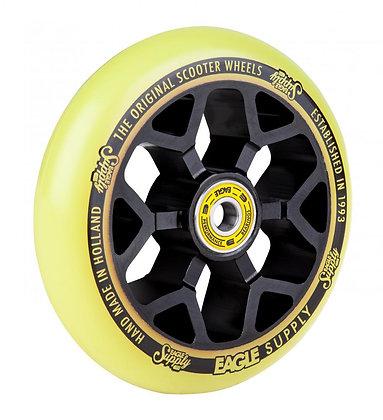 Eagle Supply Wheel 110mm Standard 6M Core - Black/Yellow