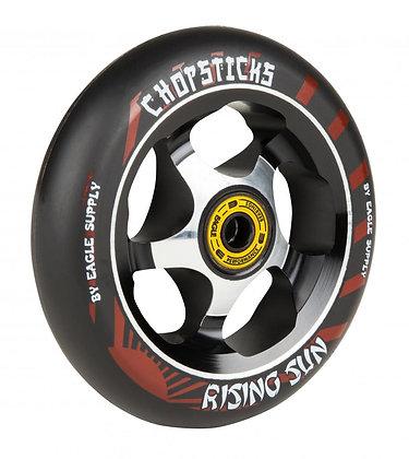 Chopstick Rising Sun Wheel 110mm - Black