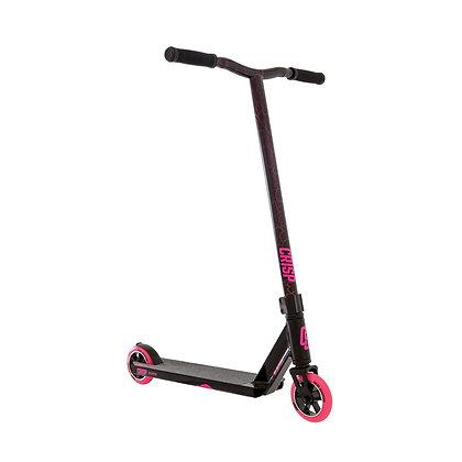 Crisp Blaster Stunt Scooter - Black/Pink Cracking