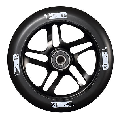 Blunt Envy 5 Spoke Wheel 120mm - Black/Black