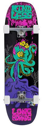 "Mindless Octopuke Cruiser 8.75"" x 32.5"" - Pink/Purple"