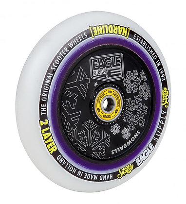 Eagle Supply Wheel 115mm H/Line 2/L Hlw tech Snowballs - Black/White