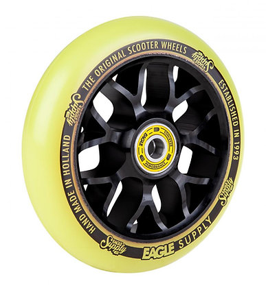 Eagle Supply Wheel 110mm Standard X6 Core - Black/Yellow