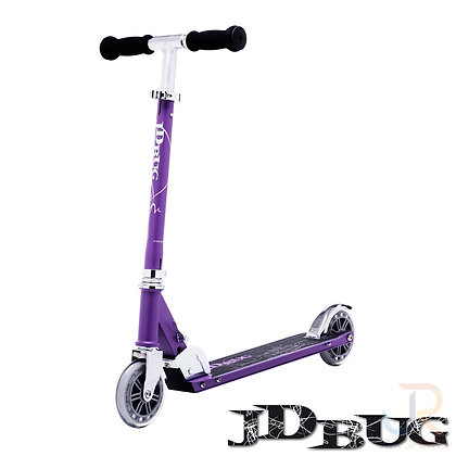 JD Bug Classic Street 120 Scooter - Matt Purple