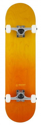 Rocket Double Dipped Complete Skateboard 8'' - Orange