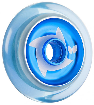 Blazer Pro Shuriken Wheel 100mm - Clear Blue