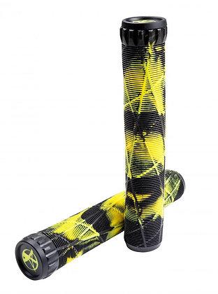 Addict GripsAddict x Eagle Supply OG Grips 180mm - Black/Yellow