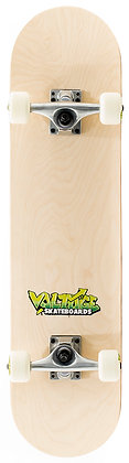 Voltage Graffiti Logo Complete Skateboard - Natural