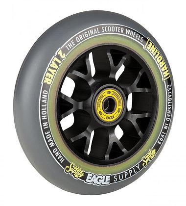 Eagle Supply Wheel 115mm H/Line 2/L X6 Sewercaps - Black/Grey