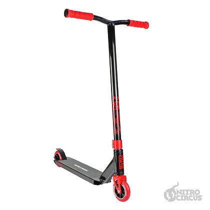 Nitro Circus CX3 Stunt Scooter - Gloss Black/Red