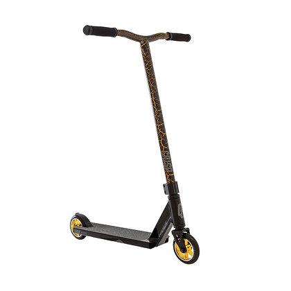 Crisp Mini Blaster Stunt Scooter - Black/Gold Cracking
