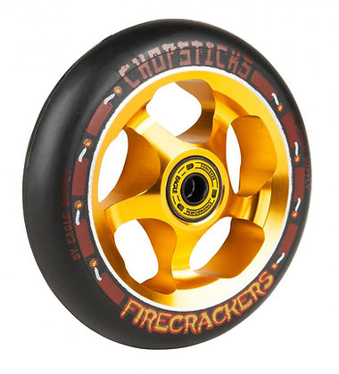 Chopstick Firecracker Wheel 110mm - Black