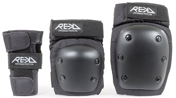 Rekd  Heavy Duty Triple Pad Set - Black