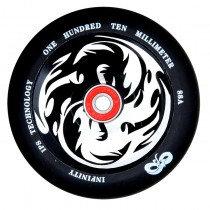 Infinity Yin/Yang 120mm Wheel Scooter - White/Black Core
