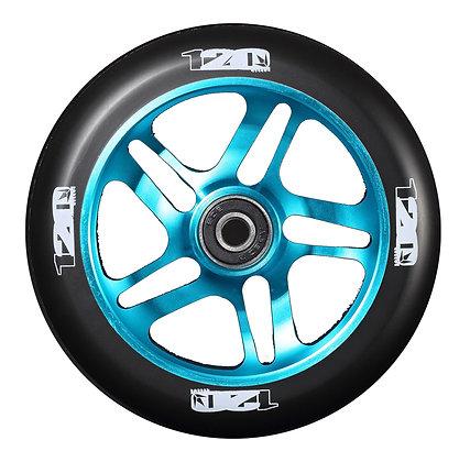 Blunt Envy 5 Spoke Wheel 120mm - Teal/Black
