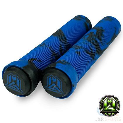 Mgp Swirl Grind Grips 150mm - Black/Blue