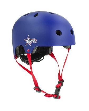 Sfr Adjustable Kids Helmet Xxxs/xs - Blue/Red