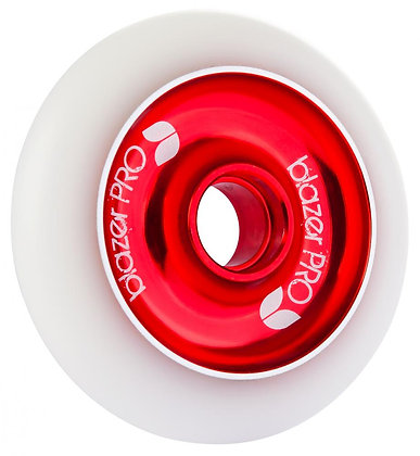 Blazer Pro  Wheel 100mm Alu Core - White/Red