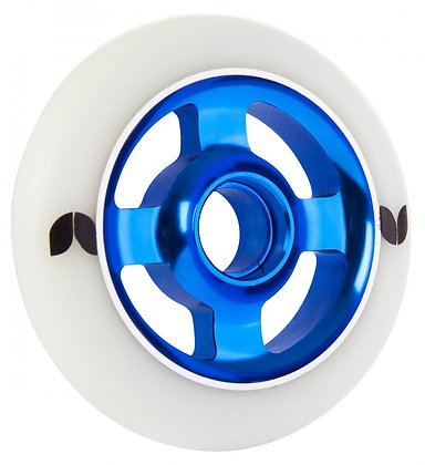 Blazer Pro Wheel 100mm Stormer 4 Spoke Aluminium - White/Blue