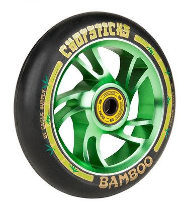 Chopstick Bamboo Wheel 110mm - Black