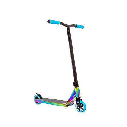 Crisp Surge Stunt Scooter - Colour Chrome/Blue
