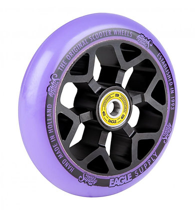 Eagle Supply Wheel 110mm Standard 6M Core - Black/Purple