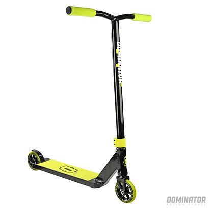 Dominator Sniper Stunt Scooter - Black/Neon Yellow