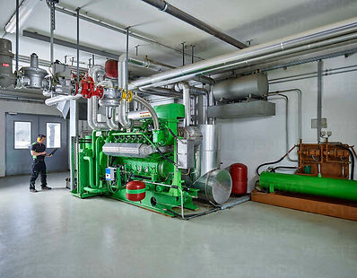 Combined heat and power CHP cogeneration