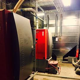 750kW Biomass Boiler Installation