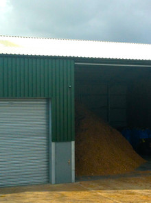 750kWth Chip Biomass Boiler - Poultry Site, Cheshire