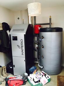35kWth Pellet Biomass Boiler - Mr.Fearnall, Whitchurch, Shropshire
