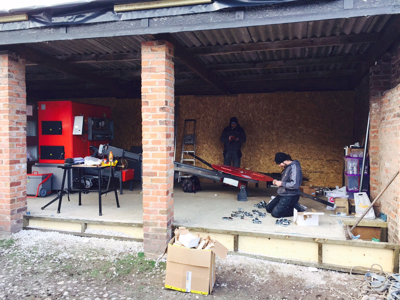 199kWth Chip Biomass Boiler - Multiple Houses, Cheshire
