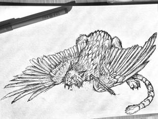 Weekly Sketches #8: Study of Adar Llwch Gwin