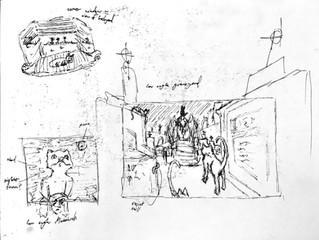 Weekly Sketches #6: Graveyards
