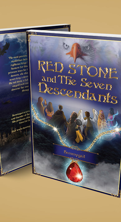 Red Stone and The Seven Descendants Ebook by Bemmygail