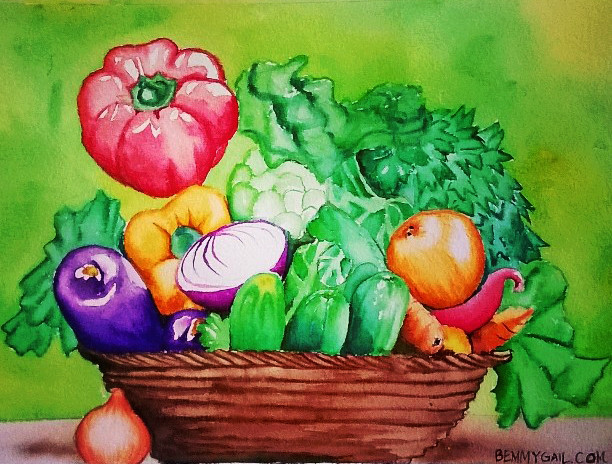 For-a-healthier-you-watercolor-on-paper.