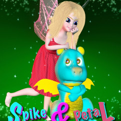Spike and Petal Poster