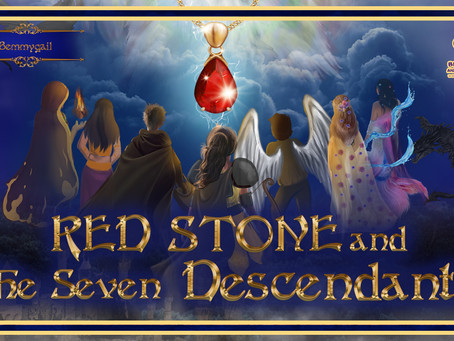 Red Stone and The Seven Descendants Book is Up!